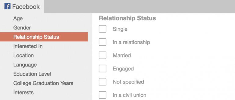 Select Relationship Status