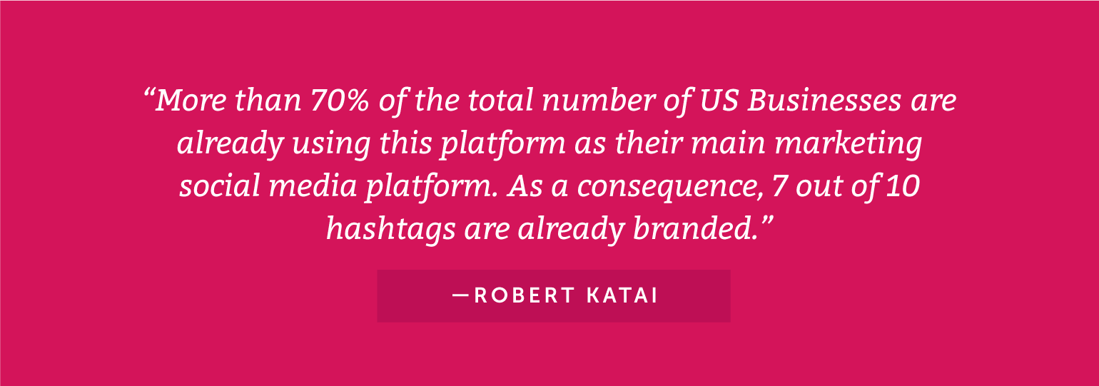 More than 70% of the total number of US businesses are already using Instagram.