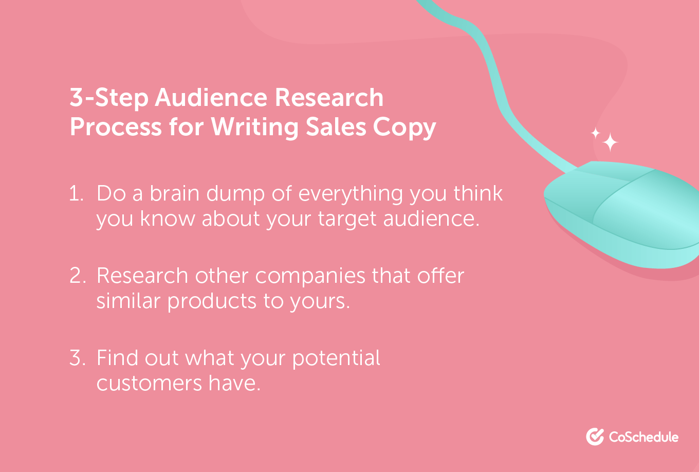 3-Step Audience Research Process for Writing Sales Copy