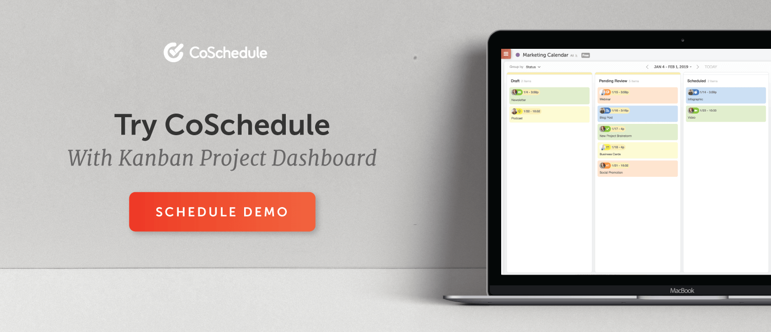 schedule a coschedule demo