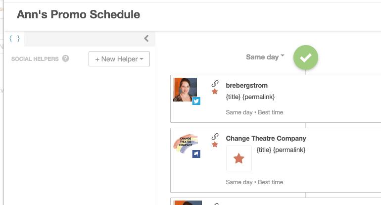 Schedule a campaign