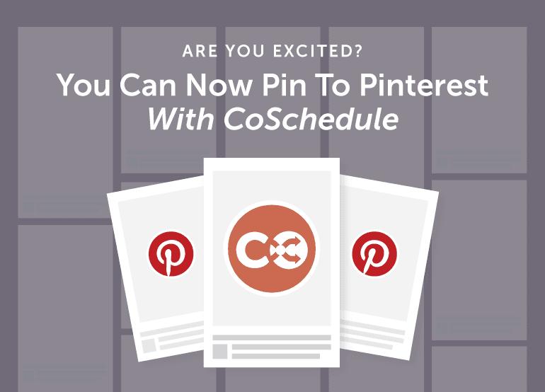 Schedule Pinterest Pins