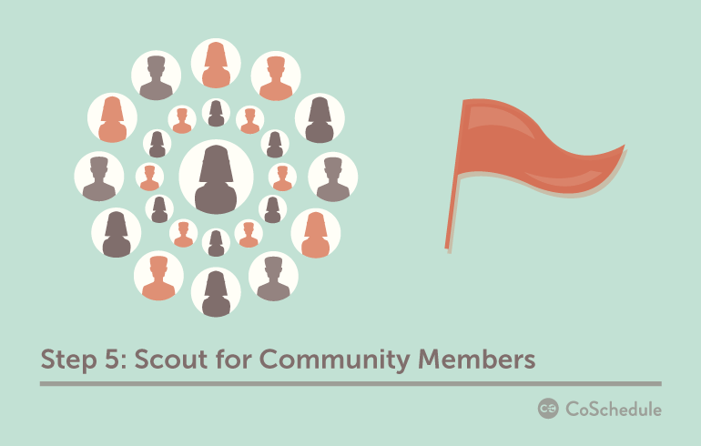 Step 5: Scout For Community Members