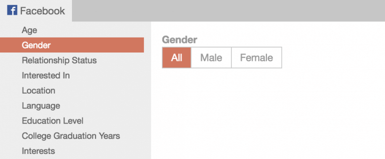 Select Gender