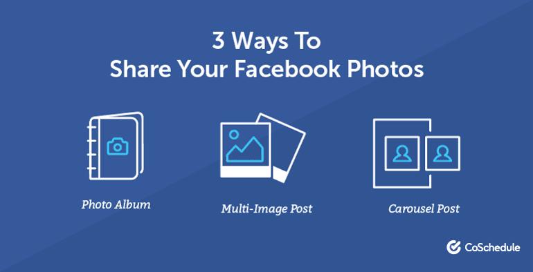 3 Ways to Share Your Facebook Photos