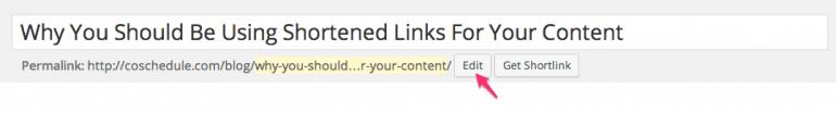 wordpress short links