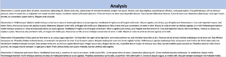 Social Media Analysis Section