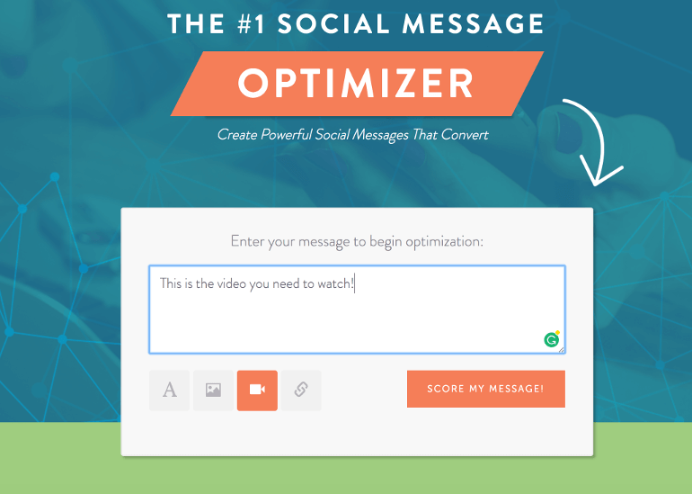 the number 1 social media message optimizer