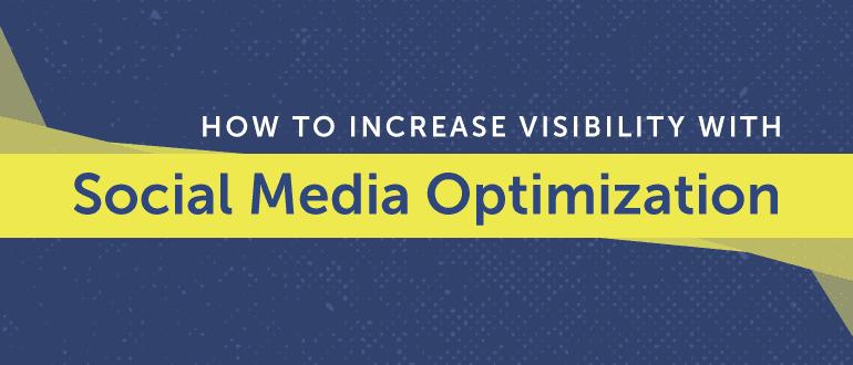 Social Media Optimization blog post header