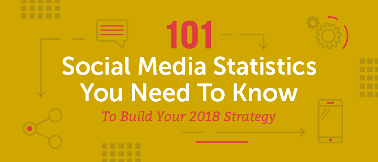 101 Social Media Statistics You Need to Know to Build Your 2018 Strategy