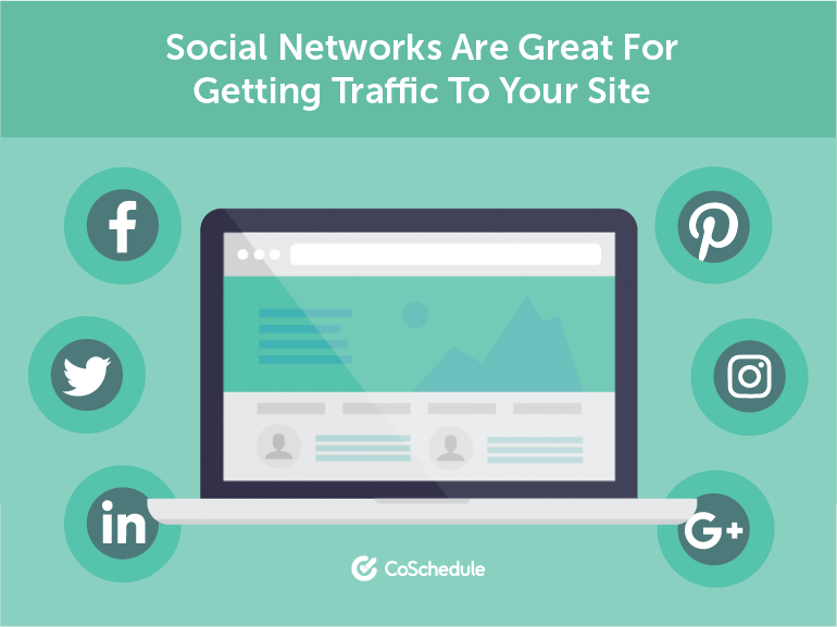Social Networks Are Great For Getting Traffic to Your Site