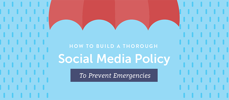 Link to social media policy template