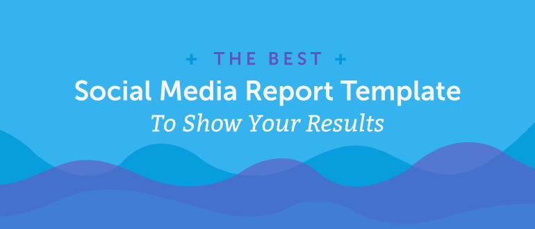 Link to social report template