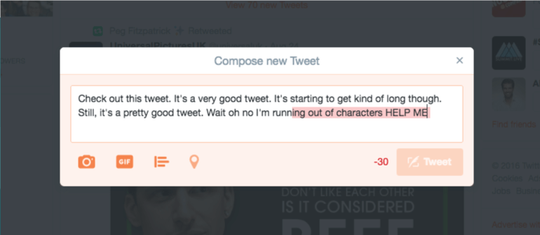 Be Mindful Of Your Character Limits