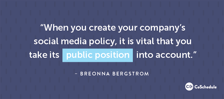 Take Public Position Into Account