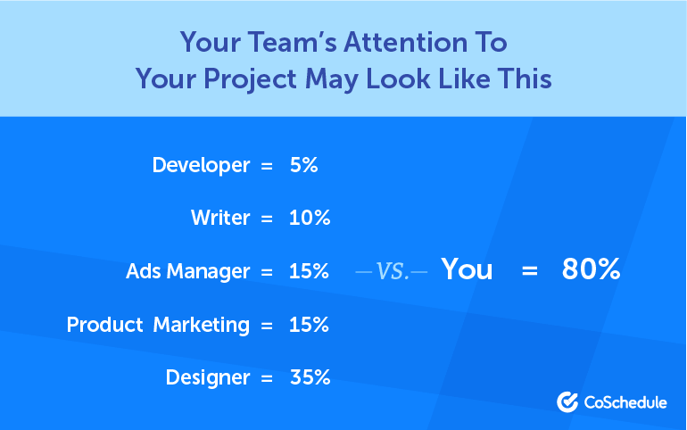 Your Team's Attention to Your Project May Look Like This