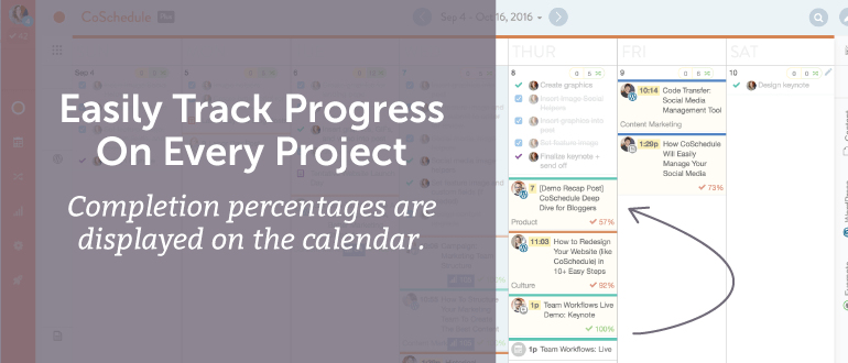 Easily Track Progress On Every Project