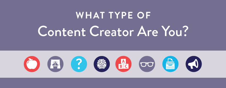 type of content creator