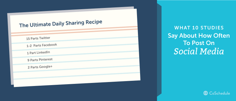 Ultimate Sharing Recipe