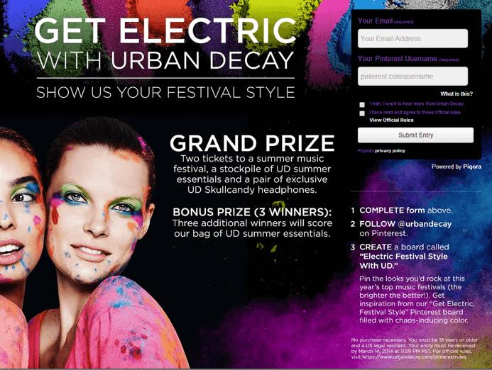Get Electric Campaign Screenshot