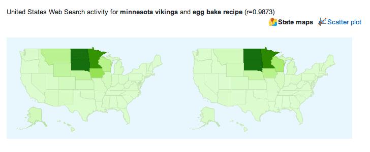 google correlate map