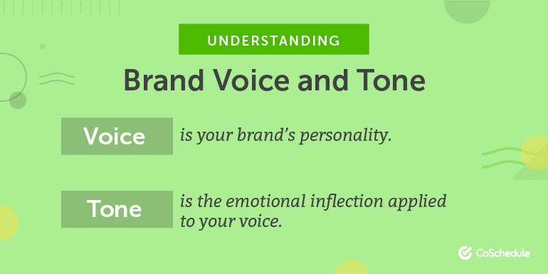 Understanding Brand Voice and Tone