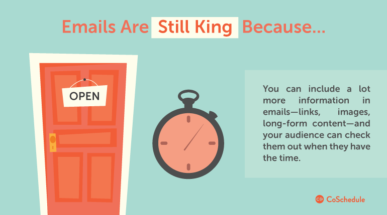 email marketing is still king over web push