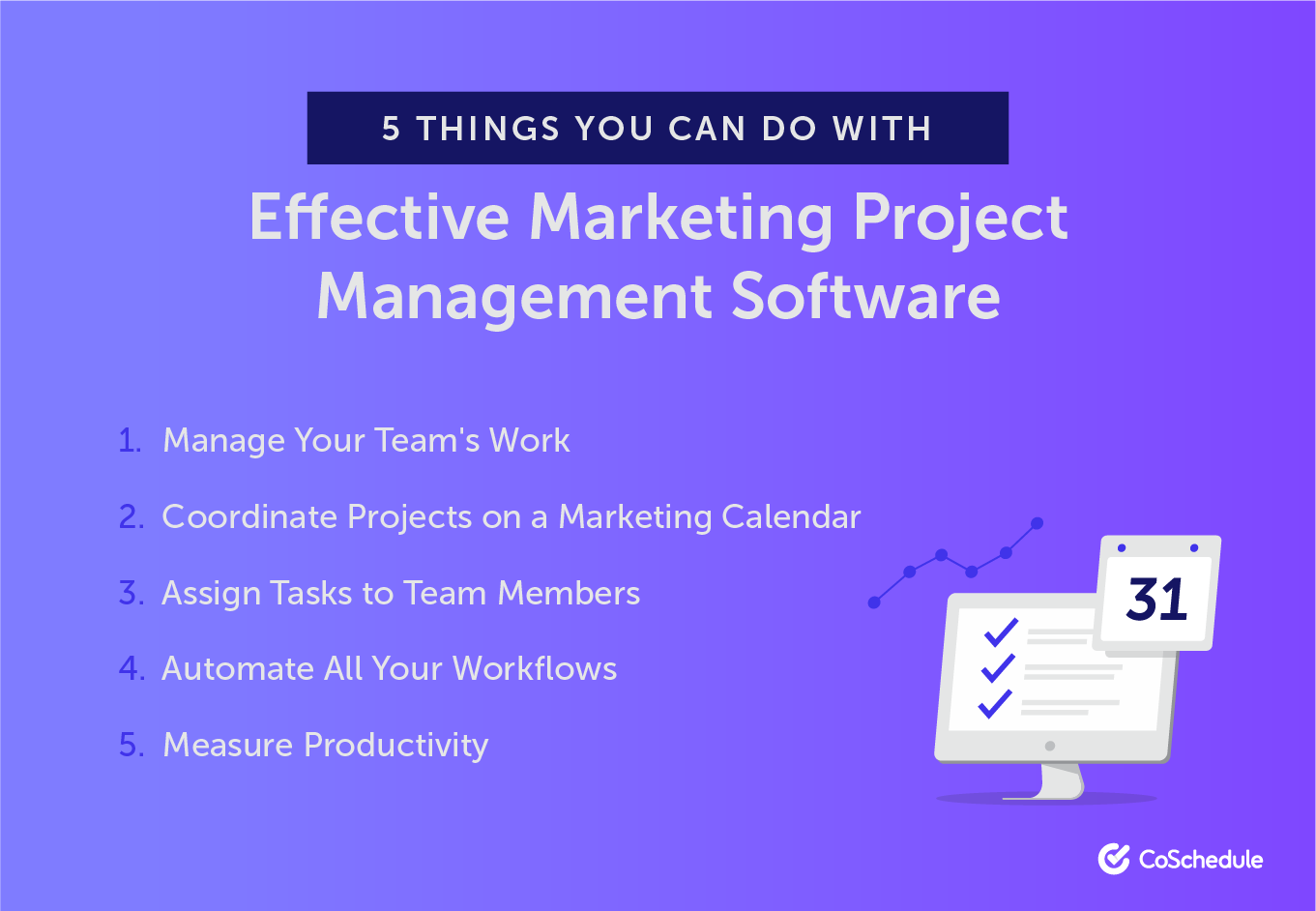 5 Things You Can Do With Effective Marketing Project Management Software