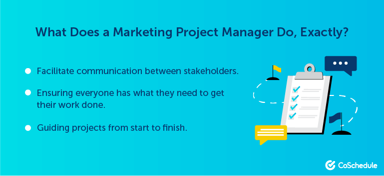 What Does a Marketing Project Manager Do?