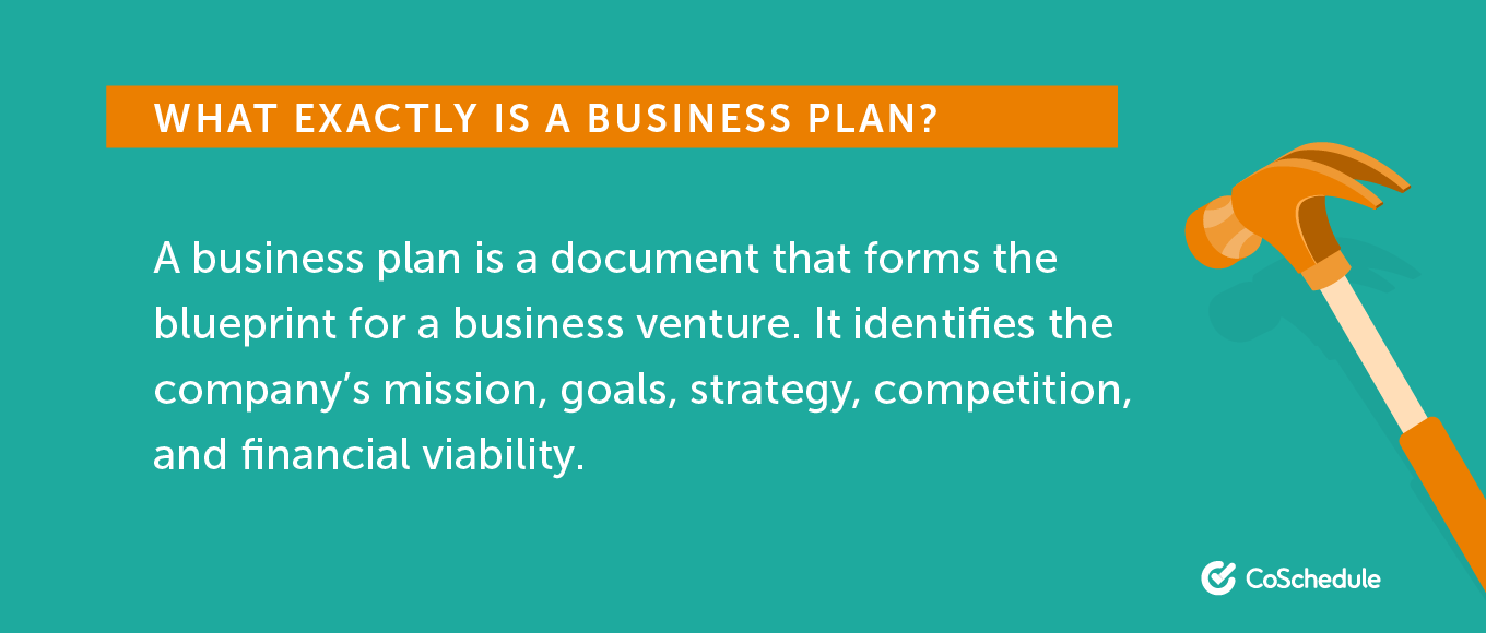 What Exactly is a Business Plan?
