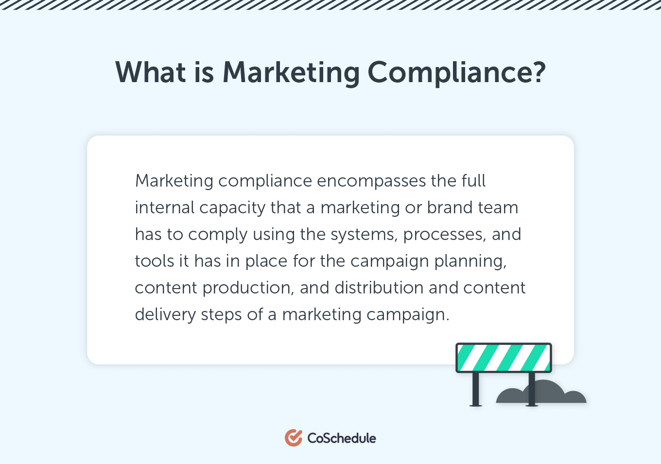 Definition of Marketing Compliance