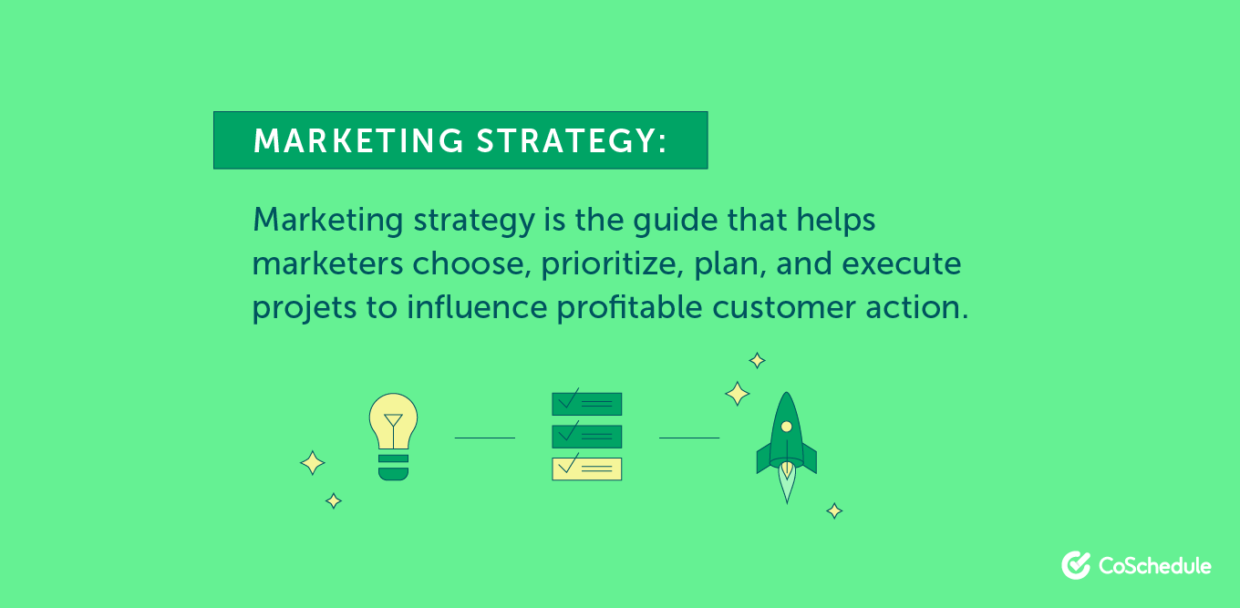 What is the definition of marketing strategy?