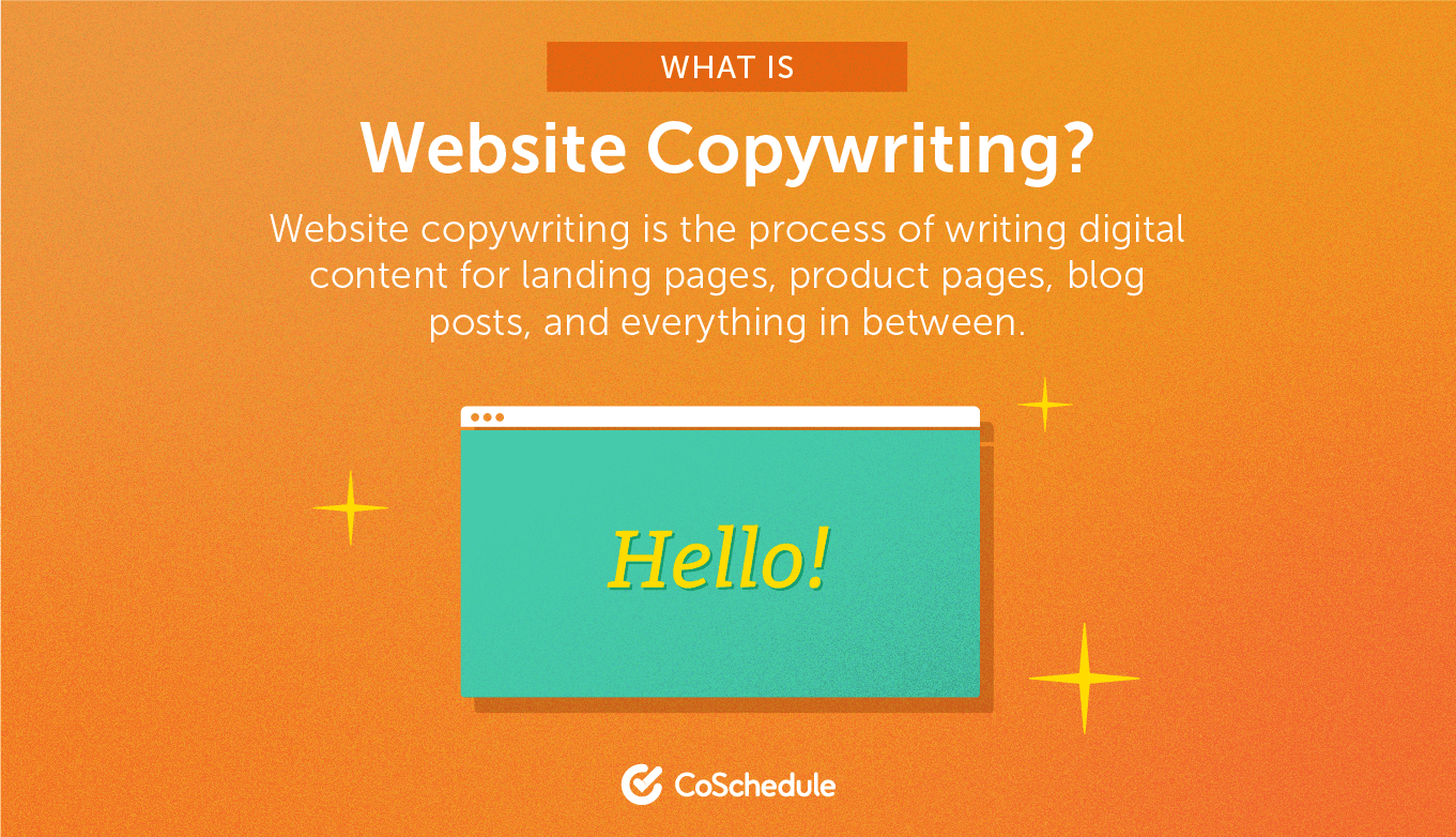 A definition of web copywriting