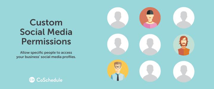 WordPress VIP custom social media permissions