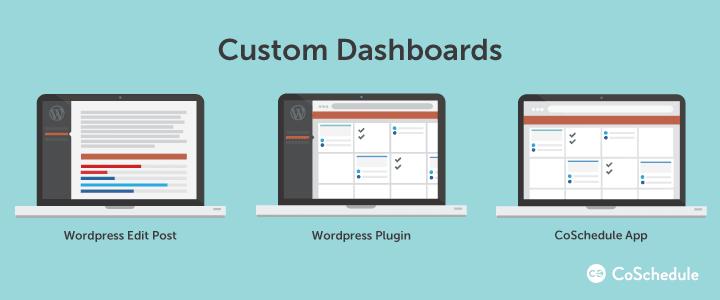 WordPress VIP custom dashboards