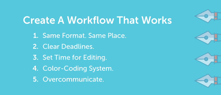 Create a Workflow That Works