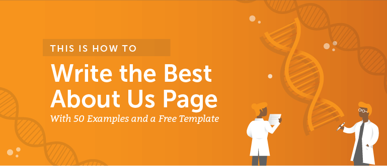 how to write the best about us page 50 examples and a free template