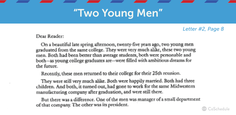 copy write two young men