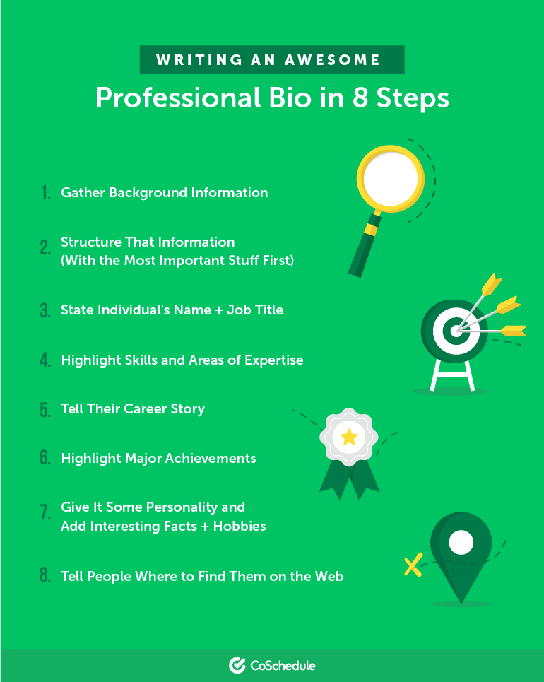 Writing an Awesome Professional Bio in 8 Steps